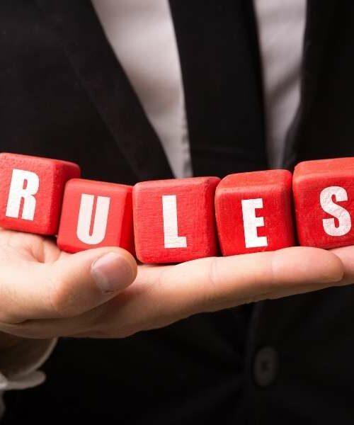 Le 14 regole di condotta