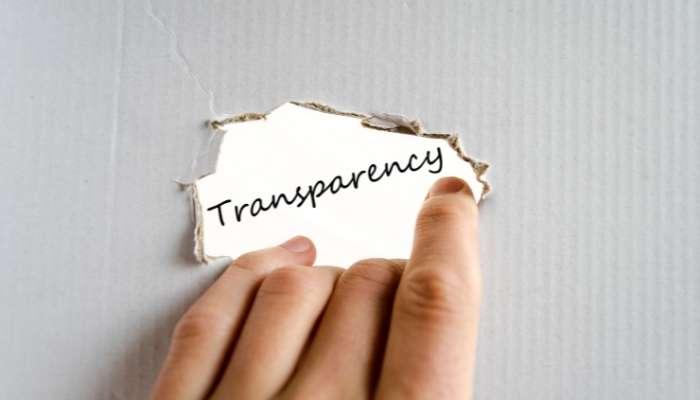 Essere sempre trasparenti con il cliente